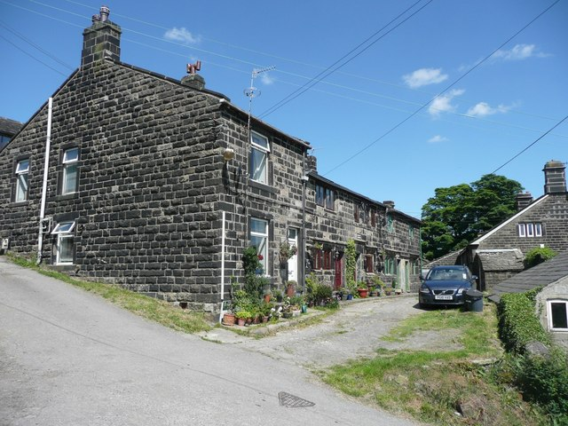 Cottages at Higher Eastwood, Stansfield, Todmorden
