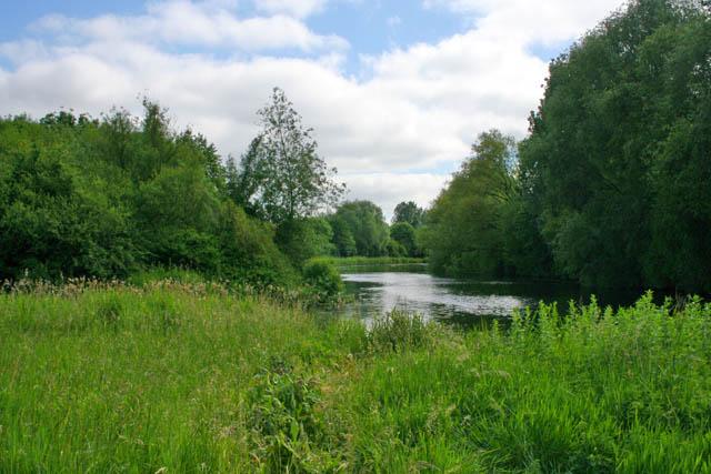 River Nene near Woodston, Peterborough