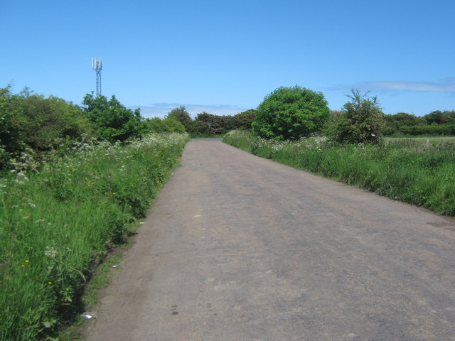 Old road between Seghill and Seaton Delaval