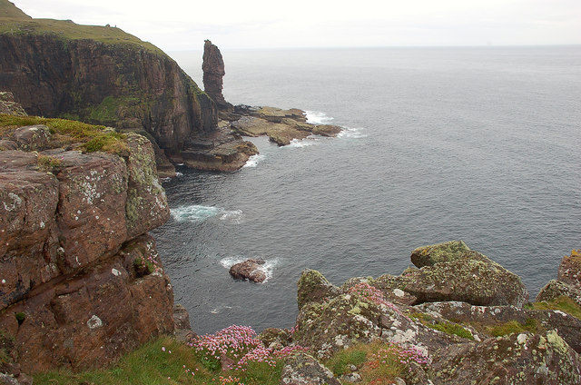 Old Man of Stoer from the northeast