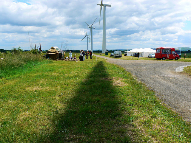 Open day at Westmill Windfarm, Watchfield