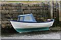 HU4741 : Small boat at Skipidock, Lerwick : Week 25