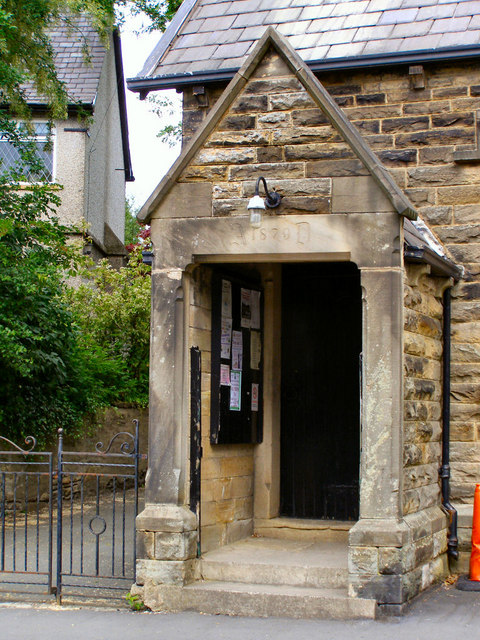 St Peter's CE Church Entrance