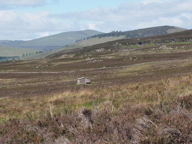 Moorland hut