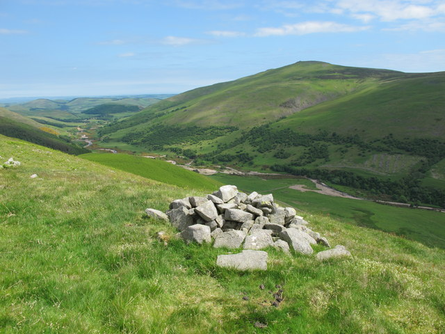 Small cairn on Blackhaggs Rigg