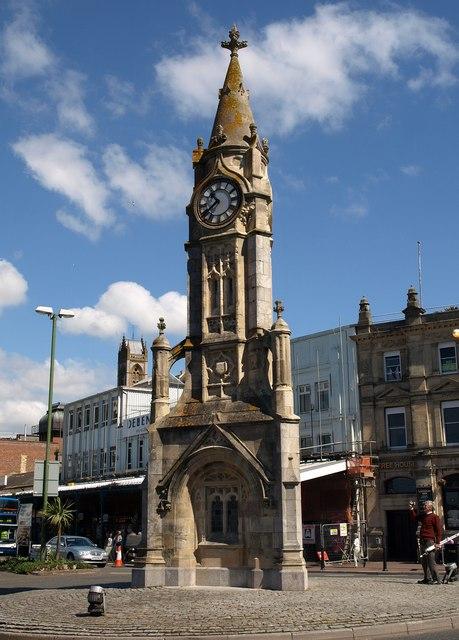 Clock tower, Torquay