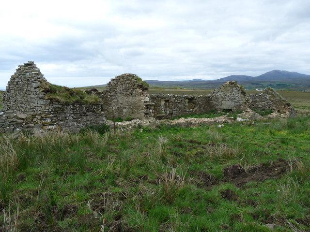 Ruin, Hill of Lychrobbie