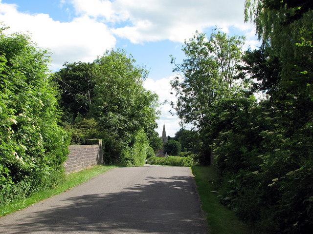Railway bridge at Wymondham