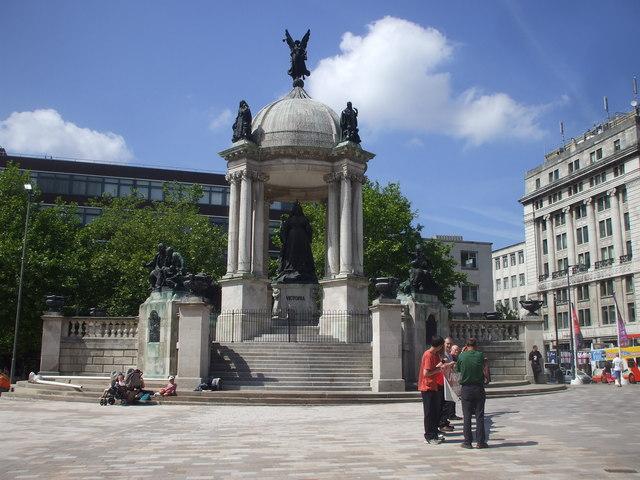 The Queen Victoria Monument, Liverpool