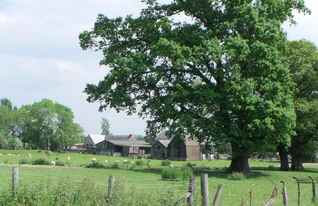 Ystym Colwyn, a farm near Main, Powys