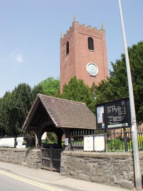 St. Myllin's, Llanfyllin, Powys