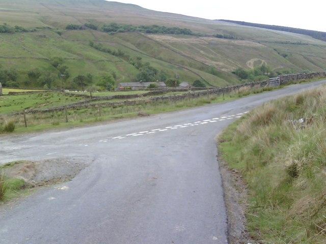 Road Junction in Garsdale