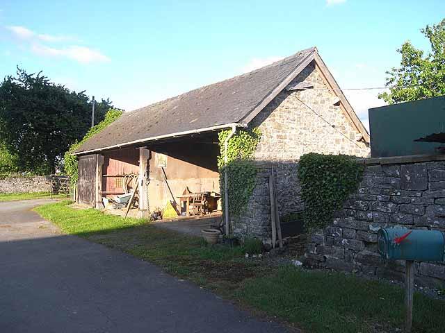 Barn at Maesmawr