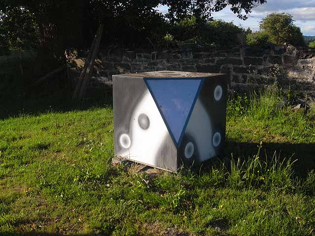 Cube at Maesmawr