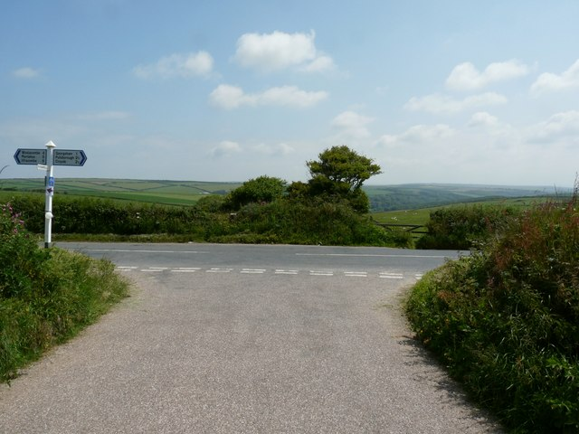 A Road Junction known as Pickwell Down