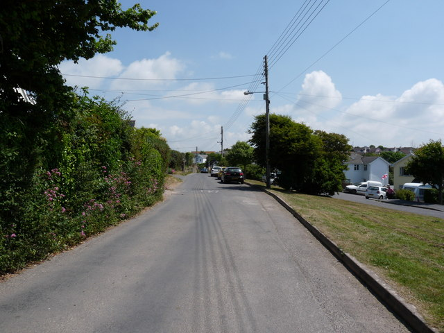 Entering Georgeham on the Putsborough Road