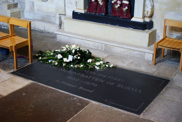 Grave of Earl Mountbatten of Burma