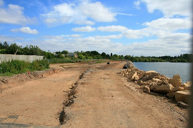 Flood defence work continues