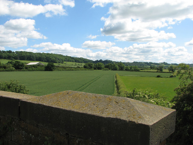 The site of Stathern Sidings