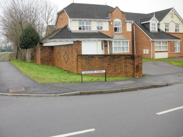 Corner of Manor Park and Morgan Way, Newport