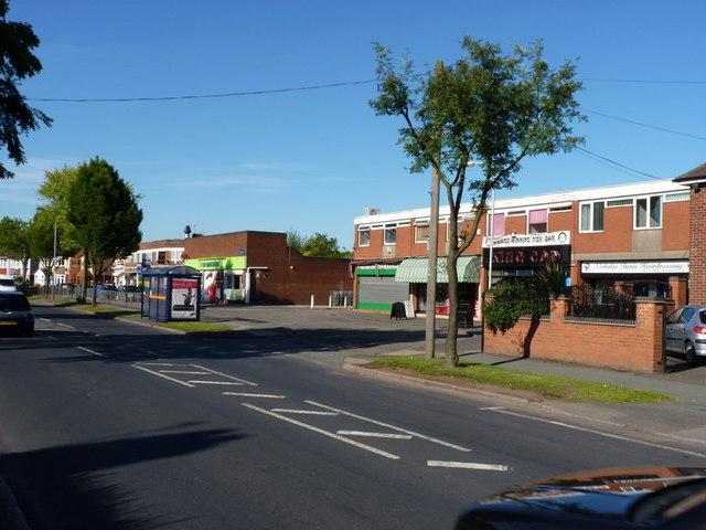 Shops on Pendeford Avenue