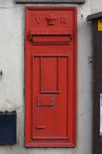 Victorian Postbox, Arthington Village Hall