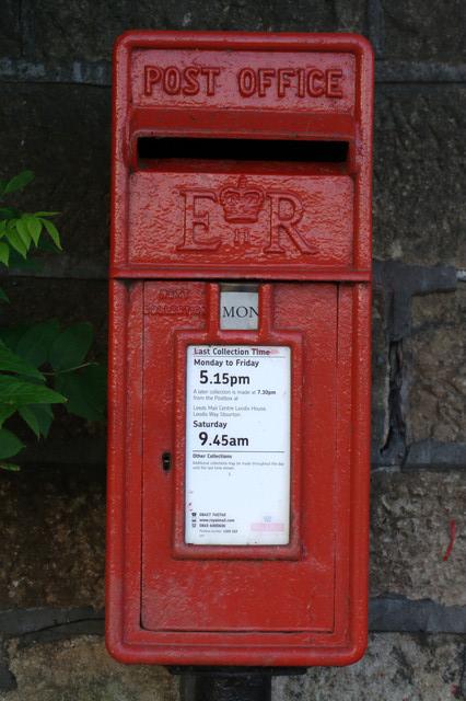 Elizabeth II Postbox, Arthington