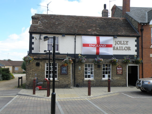 World cup support at the Jolly Sailor