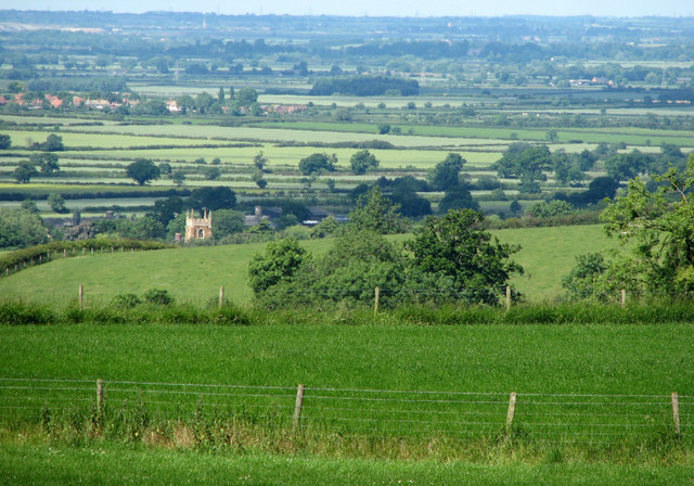View from Harby Hill