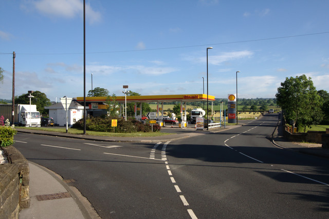 Shell Petrol Station, Pool