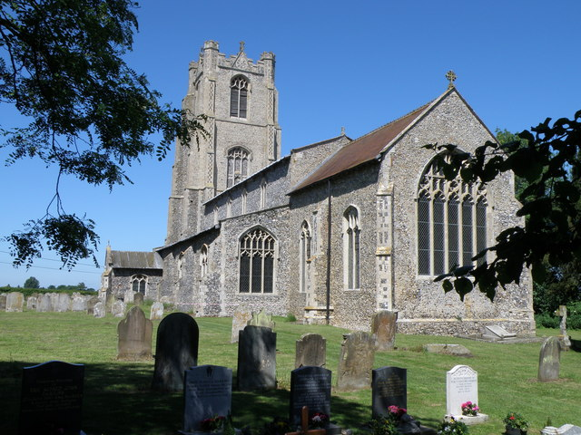 St Andrew's on a glorious sunny day