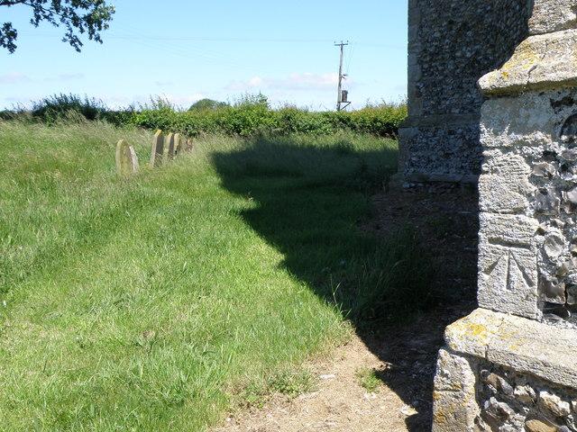Bench Mark, St Botolphs