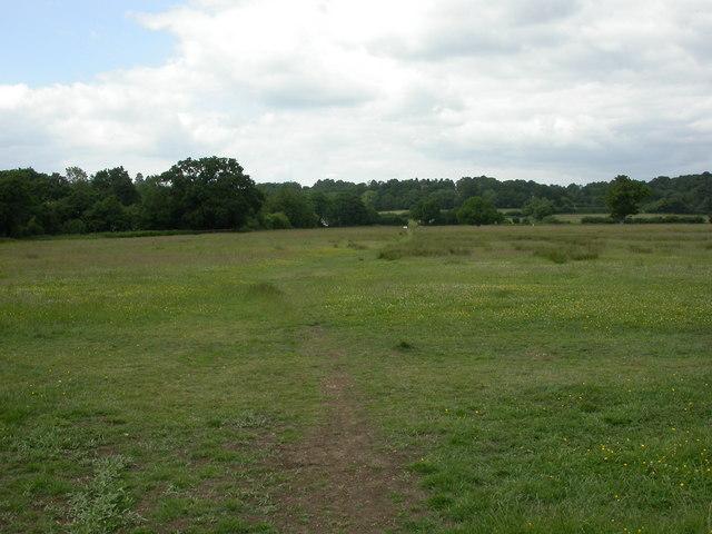 Wimborne, permissive footpath