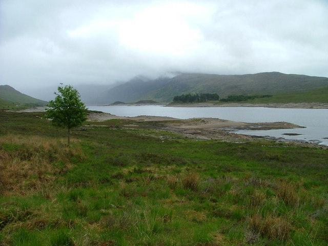 Northern shore of Loch Cluanie