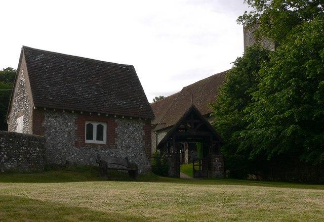 Lych gate at Chalton