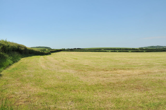 Farmland near Nether Kellet