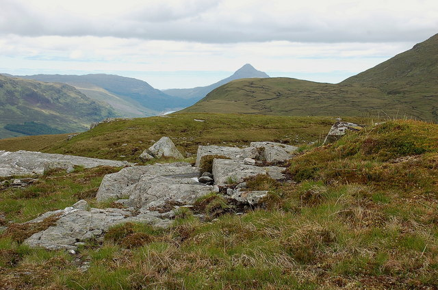 Summit area of Cnoc a' Choilich