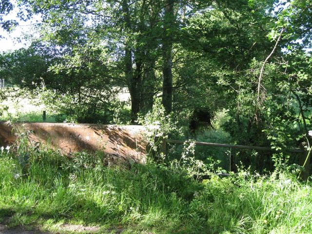 Pinley Road crosses a brook
