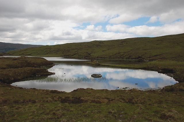 Eastern end of Loch Eas na Maoile
