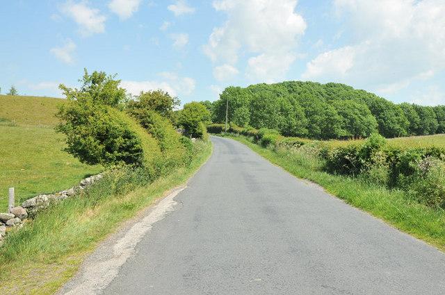 Long Dales Lane near Nether Kellet
