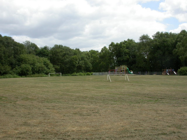 Colehill, playing field