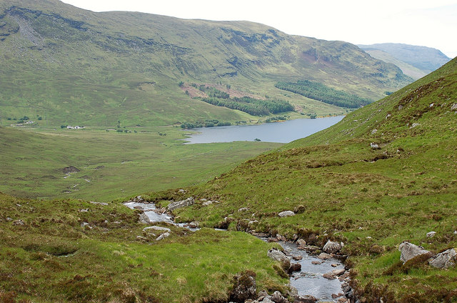 Allt Eas na Maoile and Loch More