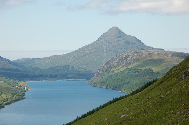 Ben Stack and Loch More