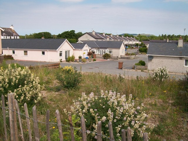 Bungalows at Marian y Mor, Pwllheli