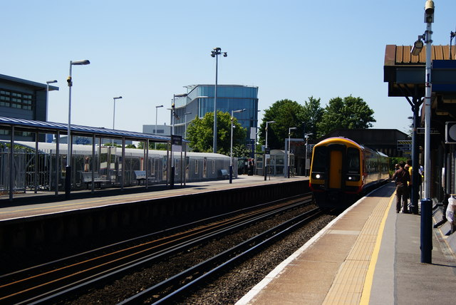 Southampton Airport Parkway Railway Station