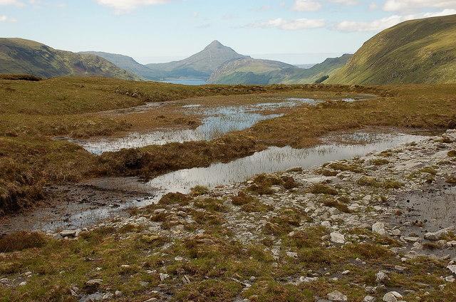 East-most lochan near Cnoc a' Choilich