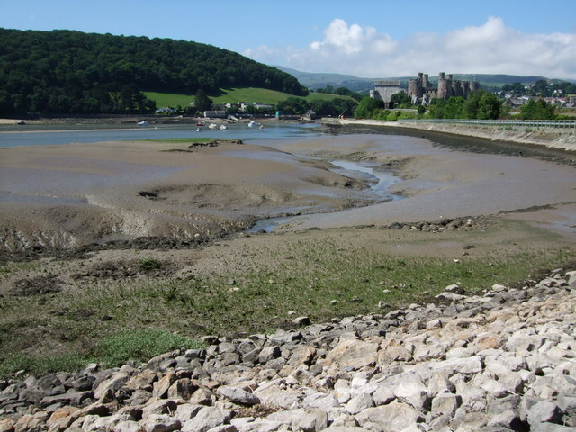 Silt issue at Conwy
