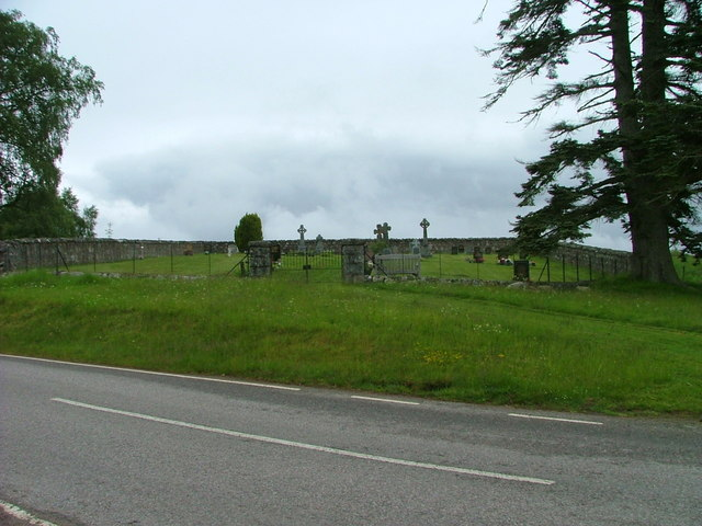 Burial ground at Dalcrag