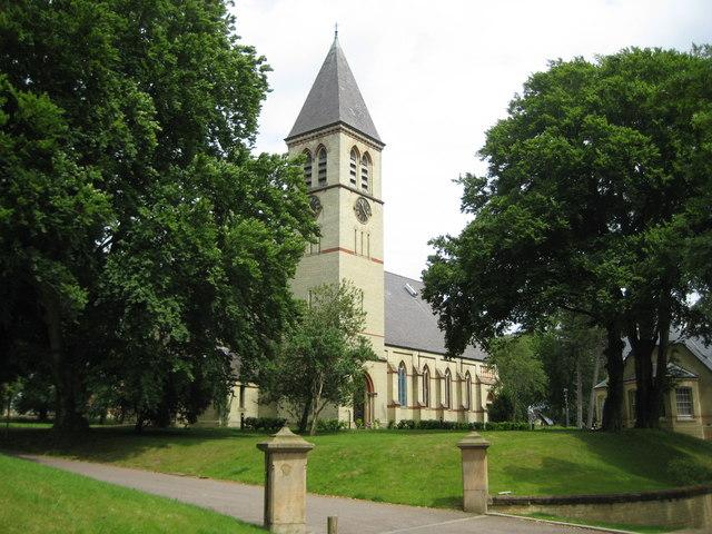 Stotfold: Former Three Counties Lunatic Asylum Church