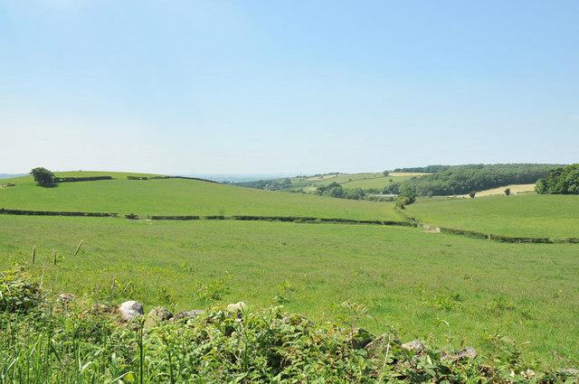 Farmland at Monkley Gill